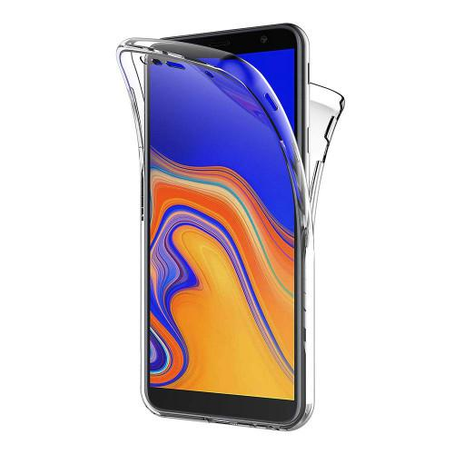 Θήκη OEM TPU 360 Full Body για Samsung Galaxy J4 Plus J415 διάφανη