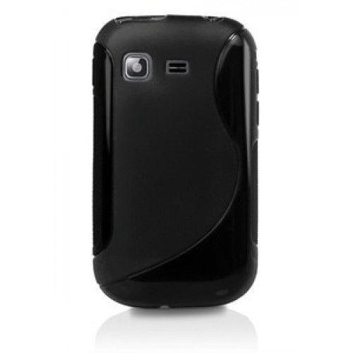 Θήκη σιλικόνης για Samsung Galaxy Pocket S5300 black