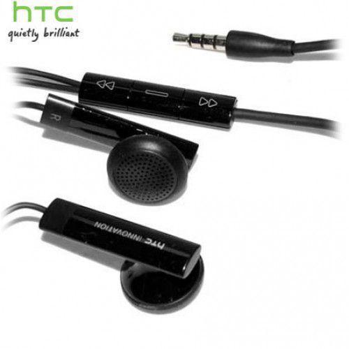 HTC Headset RC E160 Stereo black (χωρίς συσκευασία)