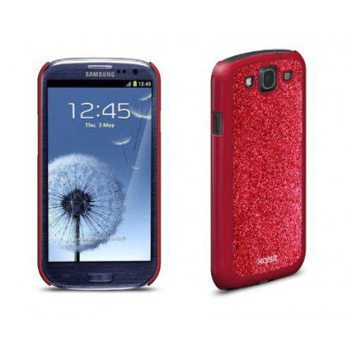 Xqisit iPlate Glamor for Galaxy S3 in Red