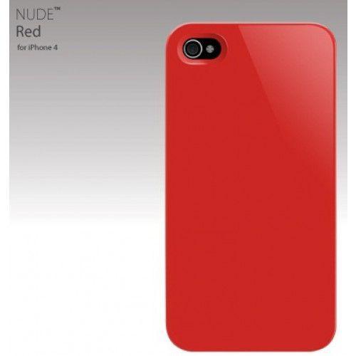 Θήκη Switch Easy Nude Red για iphone 4 + φιλμ προστασίας οθόνης