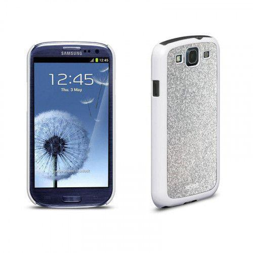 Xqisit iPlate Glamor for Galaxy S3 in Silver