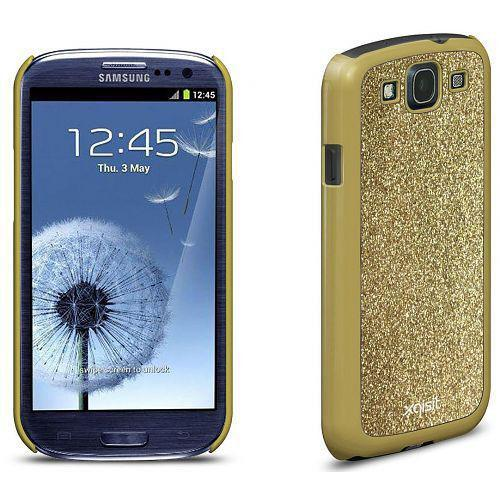Xqisit iPlate Glamor for Galaxy S3 in Gold