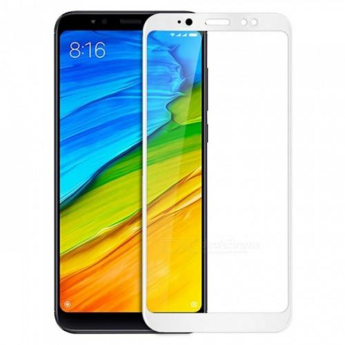 Tempered Glass Full Screen 5D Full glue για Xiaomi Redmi S2 white