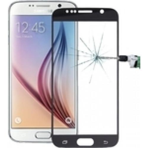 Φιλμ Προστασίας Οθόνης Tempered Glass (άθραυστο ) 9H για Samsung Galaxy S6 full face black