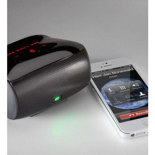 Cabstone SoundBox Bluetooth wireless speaker with dual subwoofer and touch panel