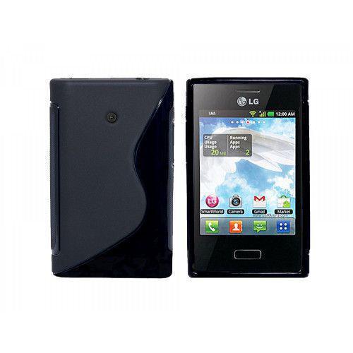 Θήκη Σιλικόνης για LG L3 E400 Black