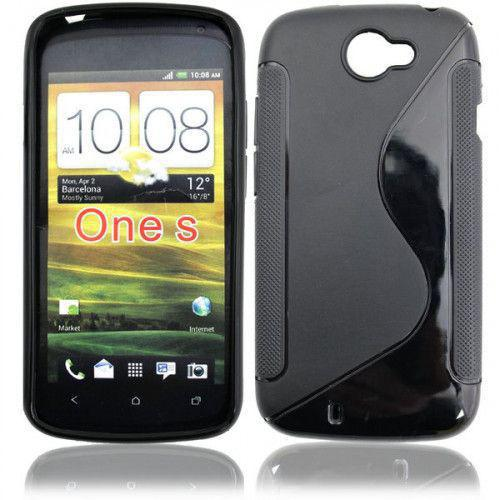 Θήκη Σιλικόνης για HTC One S black