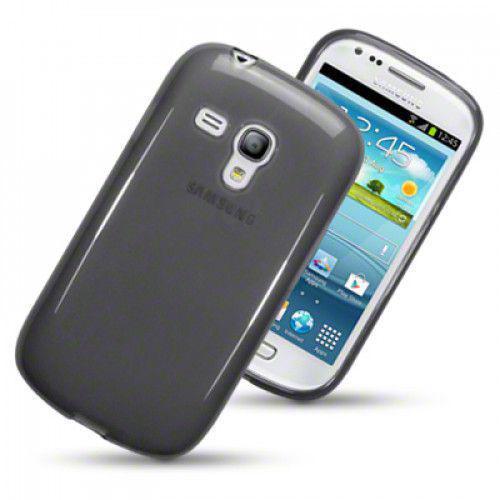Θήκη TPU Gel για Samsung Galaxy S3 mini i8190 smoke black