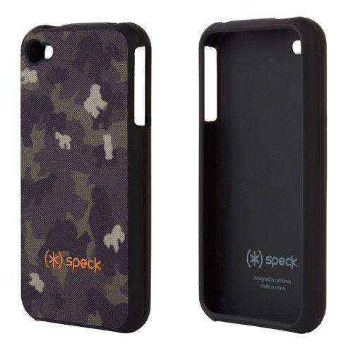 Speck SPK-A0034 Fitted for iPhone 4/4s Brown Cookie Camo