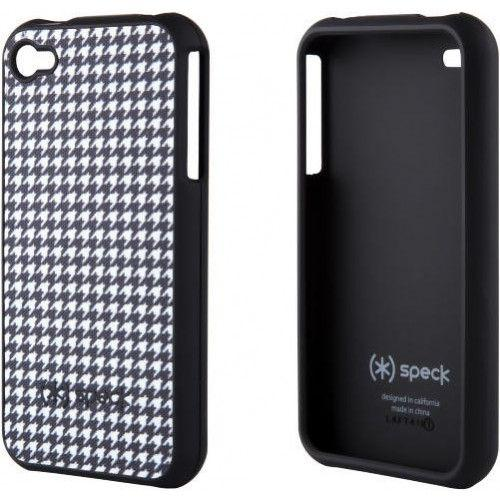 Speck SPK-A0033 Fitted For iPhone 4/4s Dalmatian Houndstooth (Black/White)