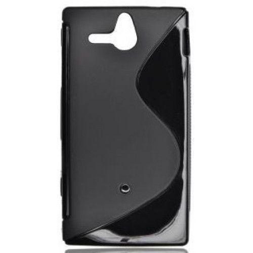 Θήκη Σιλικόνης για Sony Xperia U ST25i black