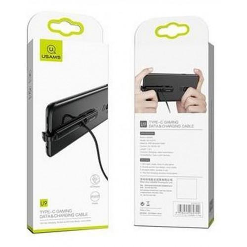 USAMS SJ279 Type-C Gaming Data&Charging Cable black