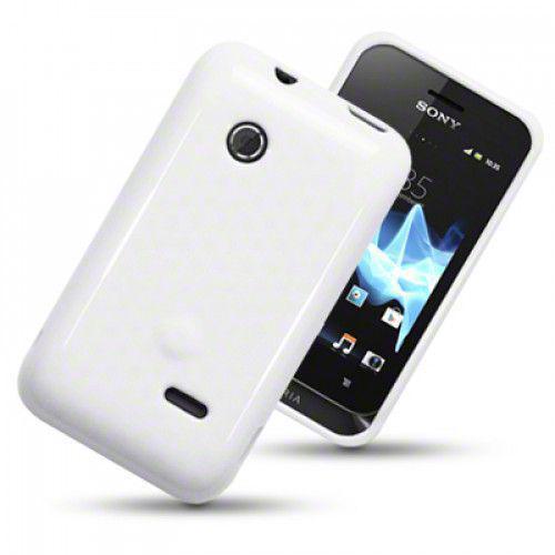 Θήκη TPU Gel για Sony Xperia Tipo Solid White by Warp