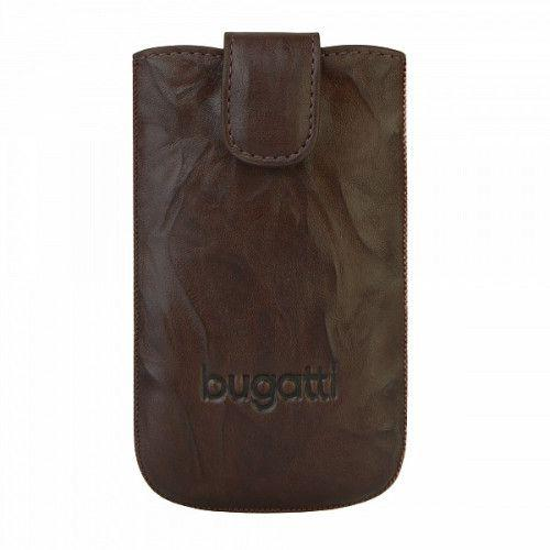 Θήκη Bugatti Slimcase Leather Unique Tobacco Size S