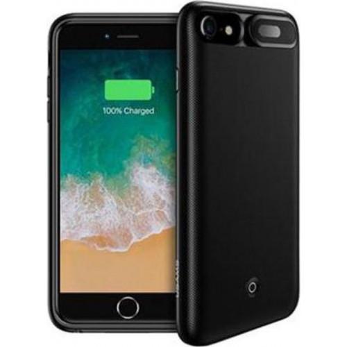 USAMS US-CD25 Power Case 3000mAh Black for iPhone 6/7/8 (EU Blister)