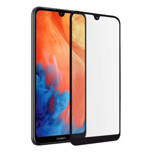 Tempered Glass Πλήρους Κάλυψης 9H 5D Full face Full glue για Huawei Y7 2019 black