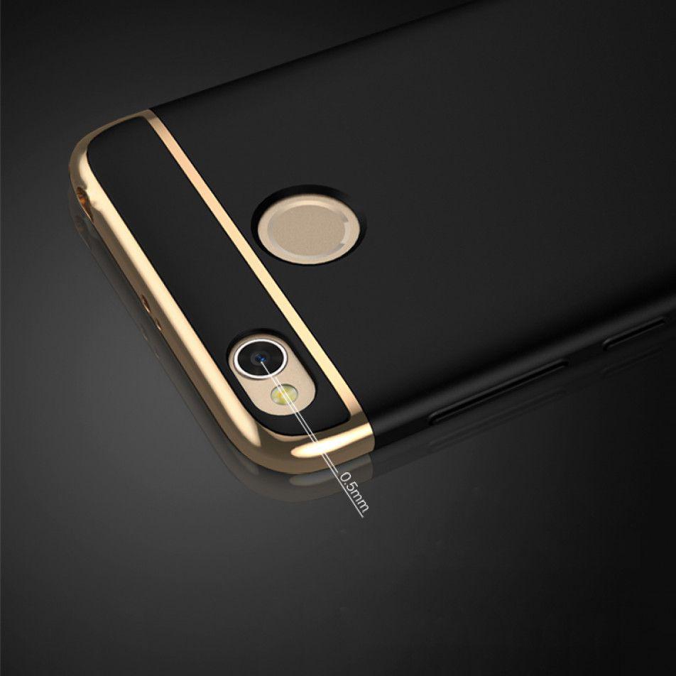 Ipaky 3 In 1 Elegant Piece Hard Case Xiaomi Redmi 4x Blue Mofi Luxury Plating Frame