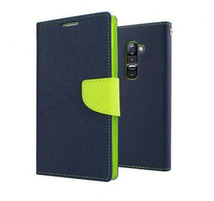 Θήκη Mercury Fancy Diary Asus Zenfone 2 ZE551 Navy / Lime