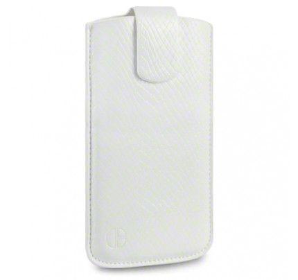 Θήκη Universal Phone Leather Pouch Case Snakeskin by Warp size XL για I9500 Galaxy S4, Xperia S ,Lumia 920