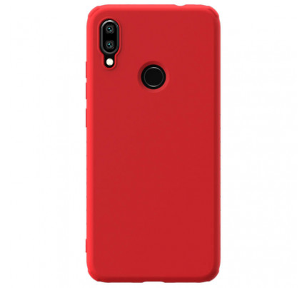 Nillkin Rubber Wrapped Protective Cover for Xiaomi Redmi Note 7 Red