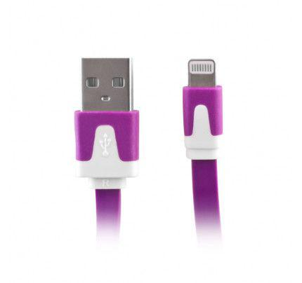 Data cable για iphone 5 purple box