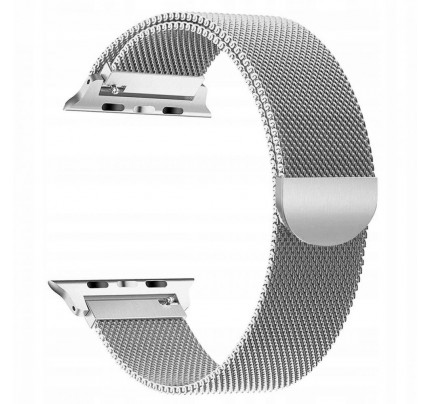TECH-PROTECT Milanese Stainless Steel Watch Strap APPLE WATCH 1/2/3/4/5 (42/44MM) Silver