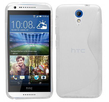 Θήκη TPU S-Line για HTC Desire 620 white
