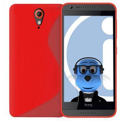 Θήκη TPU S-Line για HTC Desire 620 red