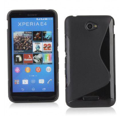 Θήκη TPU S-line για Sony Xperia E4 black