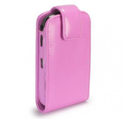 Θήκη Flip για BlackBerry 8520 Curve σε χρώμα ρόζ