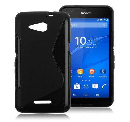 Θήκη TPU S-line για Sony Xperia E4G black