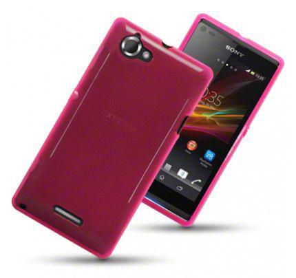 Θήκη TPU Gel για Sony Xperia L C2105 Hot Pink by Warp