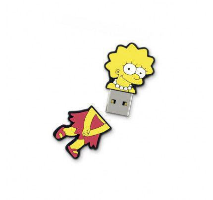 USB Flash Pendrive 8GB Integral Lisa Simpson