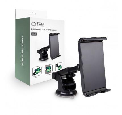 TECH-PROTECT 3IN1 Universal Βάση Στήριξης Tablet αυτοκινήτου μαύρου χρώματος