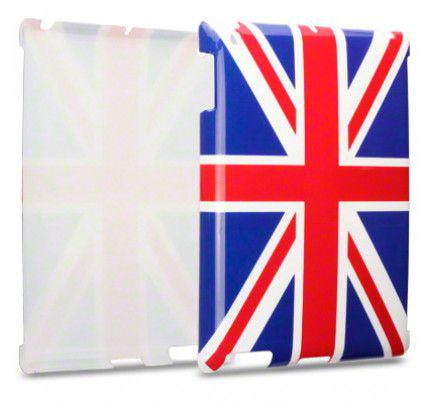 "Θήκη Apple iPad 2/3/4 ""Union Jack"" Glossy Image Back Case by Warp"
