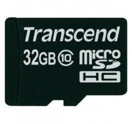Transcend microSDHC Card 32 GB Class 10 memory card