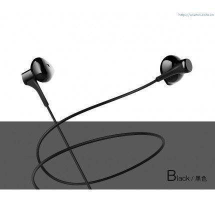 USAMS EP-17 High Fidelity In-Ear Stereo Headset 3,5mm Black ( συμβατά με όλα τα smartphones )