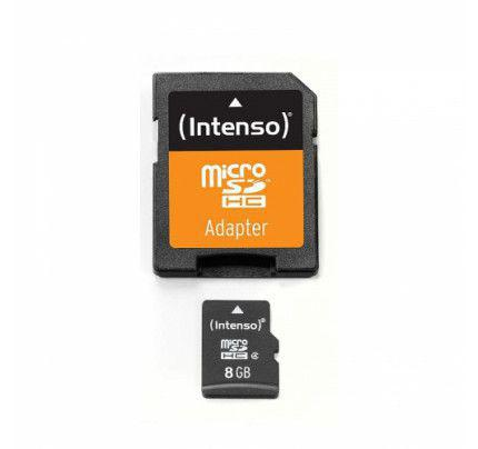 Intenso microSDHC 8GB Class 10 with Adapter