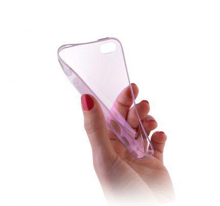 Θήκη TPU Ultra Slim για Sony Xperia M4 Aqua διάφανη-ροζ