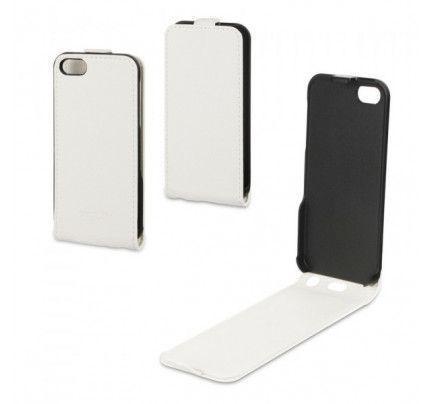 Θηκη Xqisit Flipcover for iPhone 5 / 5S white