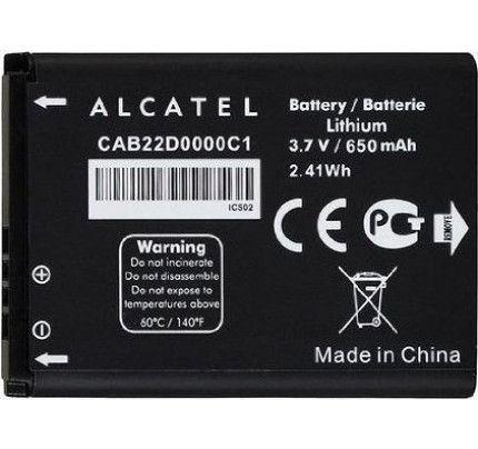 Μπαταρία Alcatel CAB22D0000C1 για One Touch OT-665 , OT-665X 650mah Original bulk