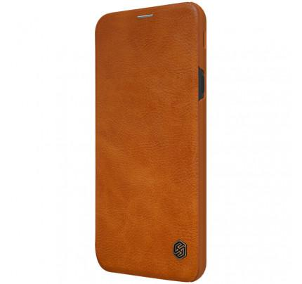 Θήκη Nillkin Qin Leather Book για Samsung Galaxy J4 Plus J415 brown