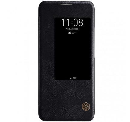 Θήκη Nillkin Qin S View Book για Huawei Mate 20 Pro μαύρου χρώματος