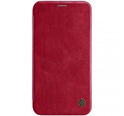 Θήκη Nillkin Qin Book για iPhone XR κόκκινου χρώματος ( Δερμάτινη)