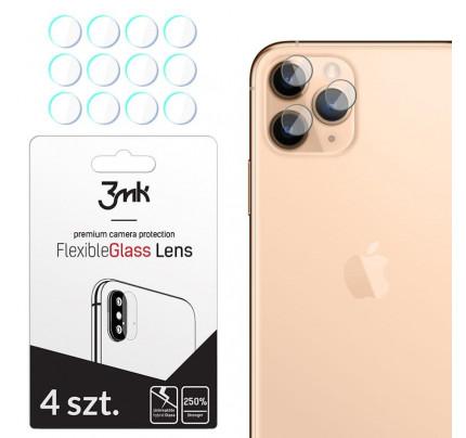 Γυαλί Προστασίας 3MK για τον φακό της Κάμερας Camera Lens iPhone 11 Pro Max  Full Cover Tempered Glass 9H ( 4 ΤΕΜΑΧΙΑ)