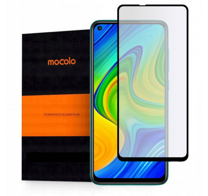 Mocolo TG+ Full Glue Tempered Glass Full face for Xiaomi Redmi Note 9 black