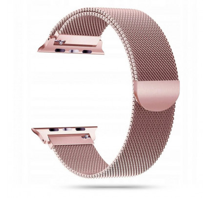 TECH-PROTECT Milanese Stainless Steel Watch Strap APPLE WATCH 1/2/3/4/5 (42/44MM) Rose Gold