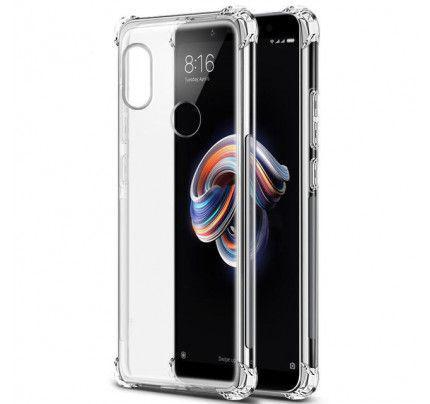 Θήκη TPU Shockproof Slim για Xiaomi Redmi Note 5 διάφανη (ενισχυμένες άκρες )