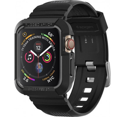 Spigen Rugged Armor Pro 062CS25324 Apple Watch Series 5 / 4 (44mm) Case black